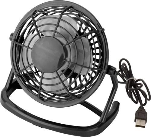 USB-Ventilator 'Hurricane' aus Kunststoff