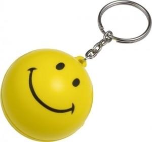 Schlüsselanhänger 'Smile' aus PU Schaum