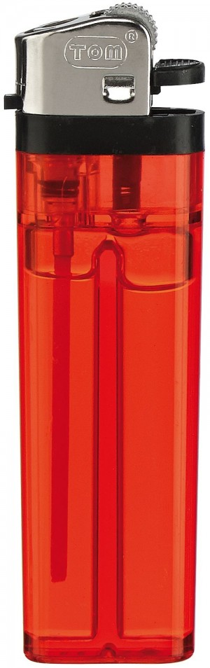 TOM® Reibradfeuerzeug (Einweg) - Transparent