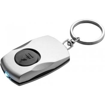 Schlüsselanhänger 'Novea' aus Kunststoff