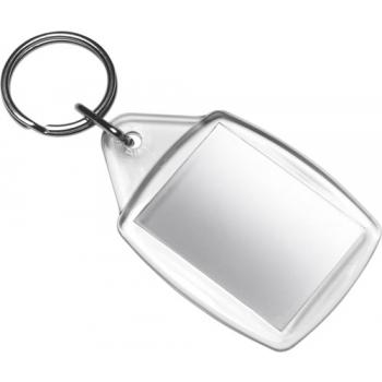 Schlüsselanhänger 'Window' aus Kunststoff