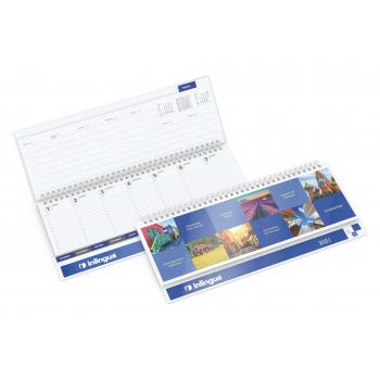 Tisch-Querkalender Master Register Cover-Star gloss-individuell bestseller