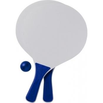 Beach-Ball-Tennisspiel 'Bravo' aus Holz