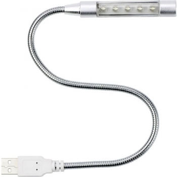USB-Lampe 'Flexible' Kunststoff/Metall