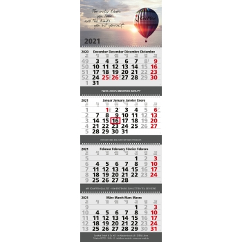 Mehrblock-Monatskalender Quadro Wire-O 4 bestseller