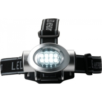 LED-Kopflampe 'Stockholm' aus ABS-Kunststoff
