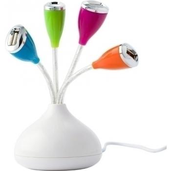 USB-Hub 'Retro' aus ABS-Kunststoff