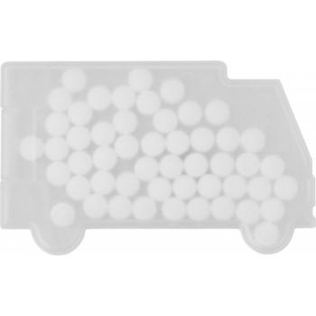 Pfefferminzbonbons 'Truck' aus Kunststoff