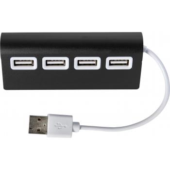 USB-Hub 'Square' aus Aluminium