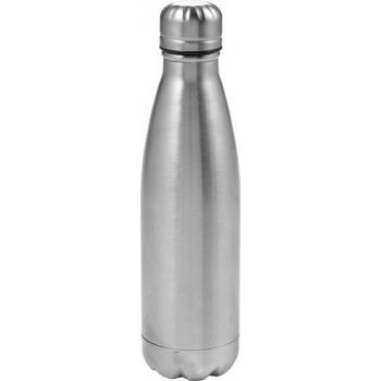 Doppelwandige Wasserflasche 'Bali' (550 ml) aus Edelstahl