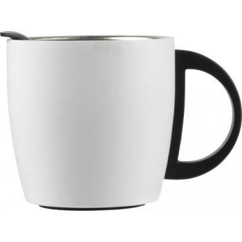Doppelwandiger Kaffeebecher 'Cowboy' aus Edelstahl (350 ml)