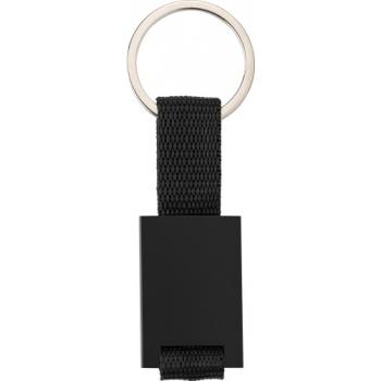 Schlüsselanhänger 'Strap' aus Aluminium