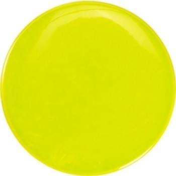 Ansteck-Button 'Light' aus PVC mit Sicherheitsnadel (Ø 6cm)