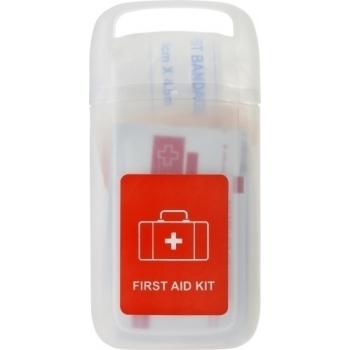 Erste-Hilfe Set 'Doc' in einer transparenten Hülle