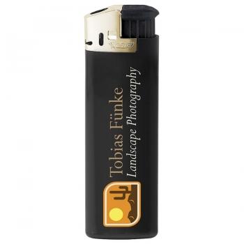 BIC® J38 Gold Hood Feuerzeuge inkl. 1c Siebdruck