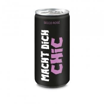 24x Frizzante Rosé Macht Dich Chic, 200 ml