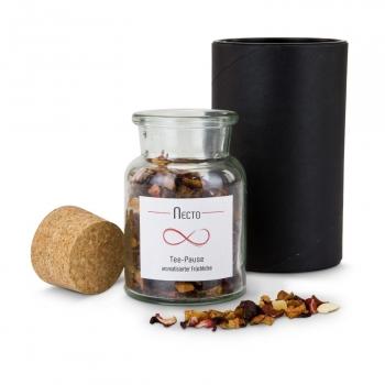Geschenkset / Präsenteset: Früchtetee Necto im Glas