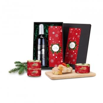 Geschenkset / Präsenteset: Weihnachts-Wurst