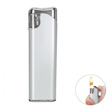Elektronik-Feuerzeug Silber