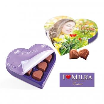 """I LOVE MILKA"" - Herz Milka"