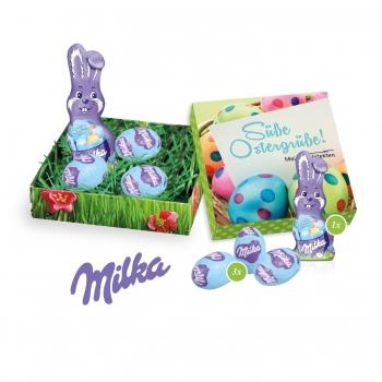 Osternest mit Schokolade von Milka Milka