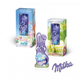 Milka Schmunzelhase, Alpenmilch 15 g Milka