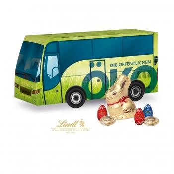 """3D Präsent """"Bus"""" mit Schokoladenmischung von Lindt lindt"""