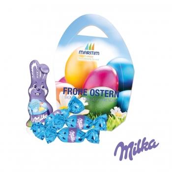 """Premium """"Osterei"""" mit Schokoladenmischung von Milka Milka"""