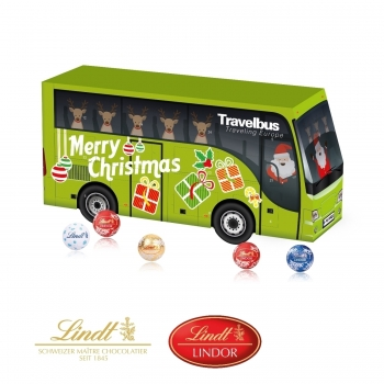 3D Adventskalender Bus lindt