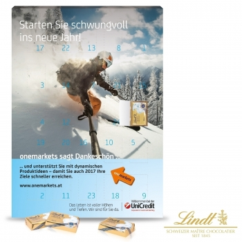 Wand-Adventskalender Select Edition lindt