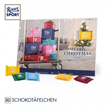 Tisch-Adventskalender Ritter SPORT ritter
