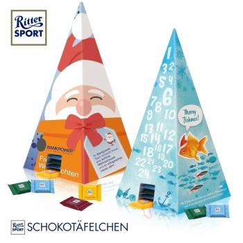 Adventskalender-Pyramide Ritter SPORT ritter