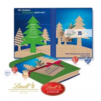 Adventskalender Weihnachtsbuch Exklusiv lindt