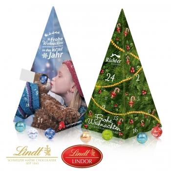 Adventskalender Weihnachtspyramide lindt