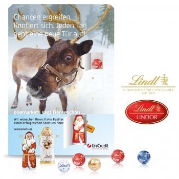 Wand-Adventskalender Gourmet Edition lindt