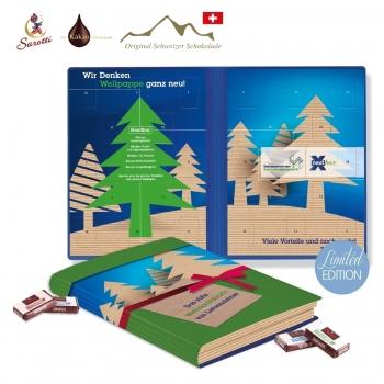 Adventskalender Weihnachtsbuch Exklusiv sarotti