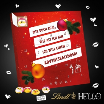 Adventskalender Lindt HELLO Emoti hello