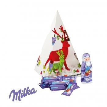 Präsent Weihnachtsbaum milka