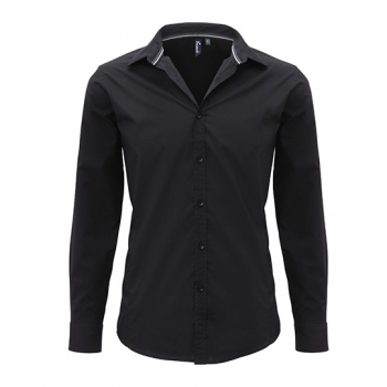 Men`s Long Sleeve Fitted Friday Bar Shirt