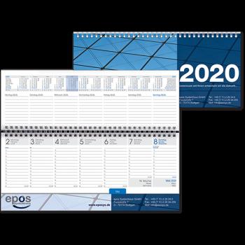 "Tischquerkalender ""Romulus Karton"" 2020"