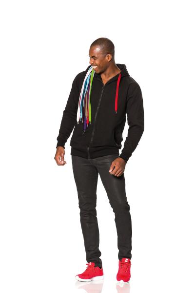 BizTune - Sweatshirt - farblich anpassbare Schnüre