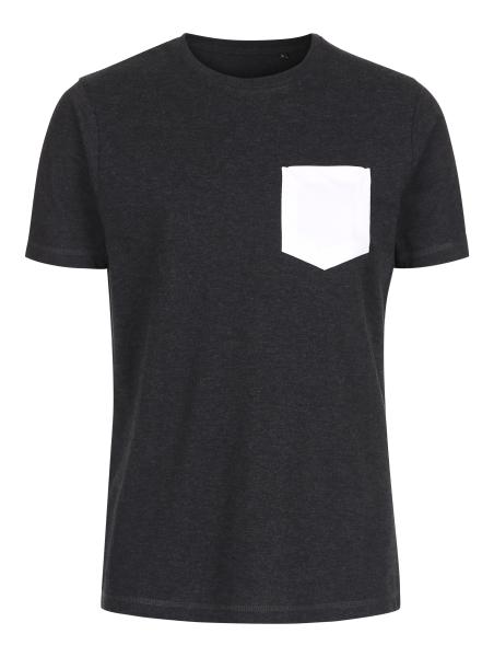 BizTune - T-shirt - mit anpassbarer Tasche aufgenäht