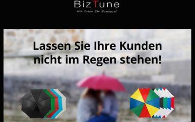 Bedruckter Regenschirm von Biztune